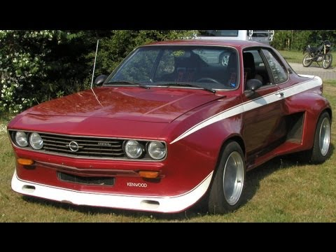 der breiteste opel manta a in deutschland 2 06m superbreit und stark youtube. Black Bedroom Furniture Sets. Home Design Ideas