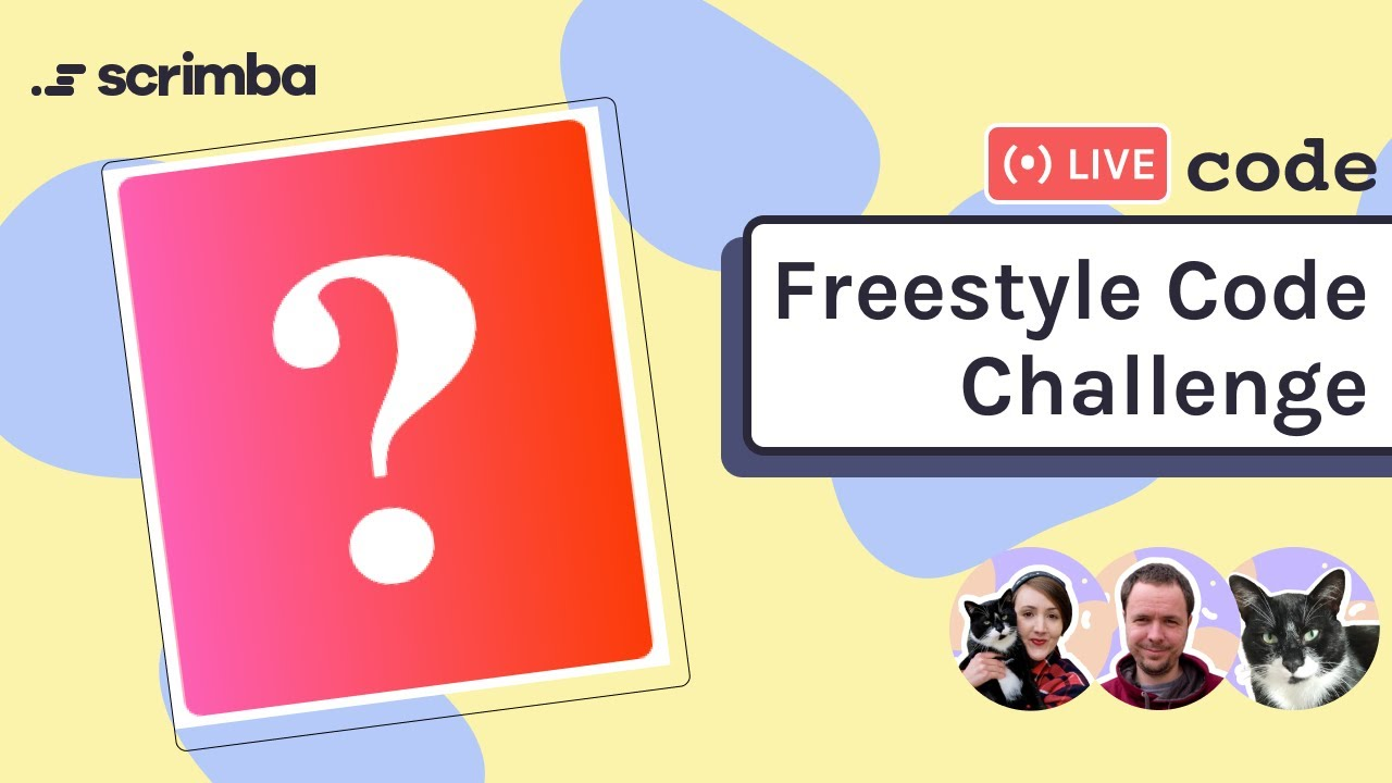 Live coding a freestyle code challenge with HTML, CSS and JavaScript
