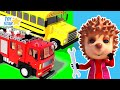 Dolly and Friends 3D | Fire Truck & Police Car Come to Help  Baby Panda #258