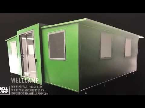 Wellcamp Moving the World丨Expandable Shipping Container House & Prefab House Supplier