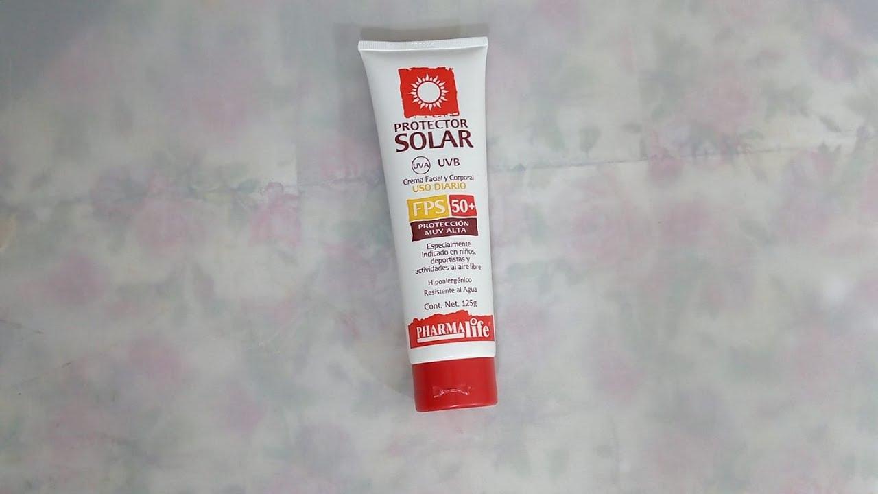 bloqueador solar de farmacias similares