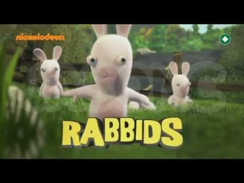 Rabbids Invasion Promo [Nickelodeon Greece]