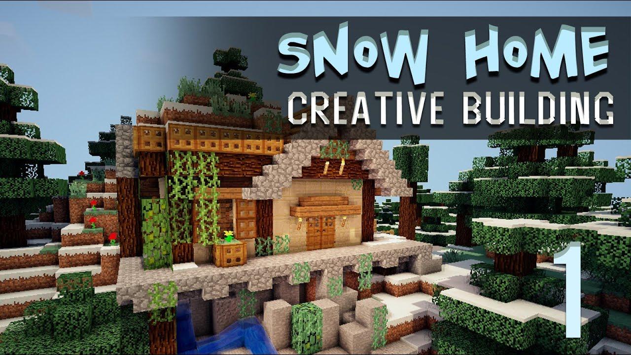Minecraft Creative Build: Snowy - 311.1KB
