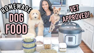 VET APPROVED HOMEMADE + HEALTHY DOG FOOD RECIPE | COOKING FOR YOUR DOG | PART 2