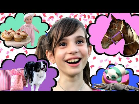 HAPPY BIRTHDAY WITH HORSES 🐴 ELLISE'S 9th BIRTHDAY PARTY IDEAS COME TRUE! GIFTS & HORSE RIDING FUN!
