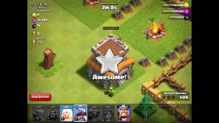 CLASH OF CLANS GOWIPE MISSING SOME TROOPS ATTACK