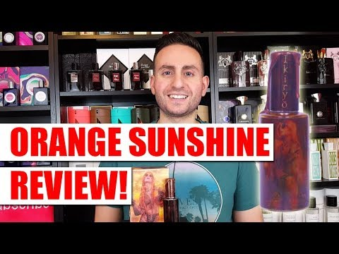 Orange Sunshine by Ikiryo Fragrance / Cologne Review