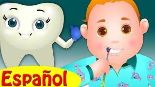 CEPÍLLATE LOS DIENTES   Canciones infantiles en Español   ChuChu TV
