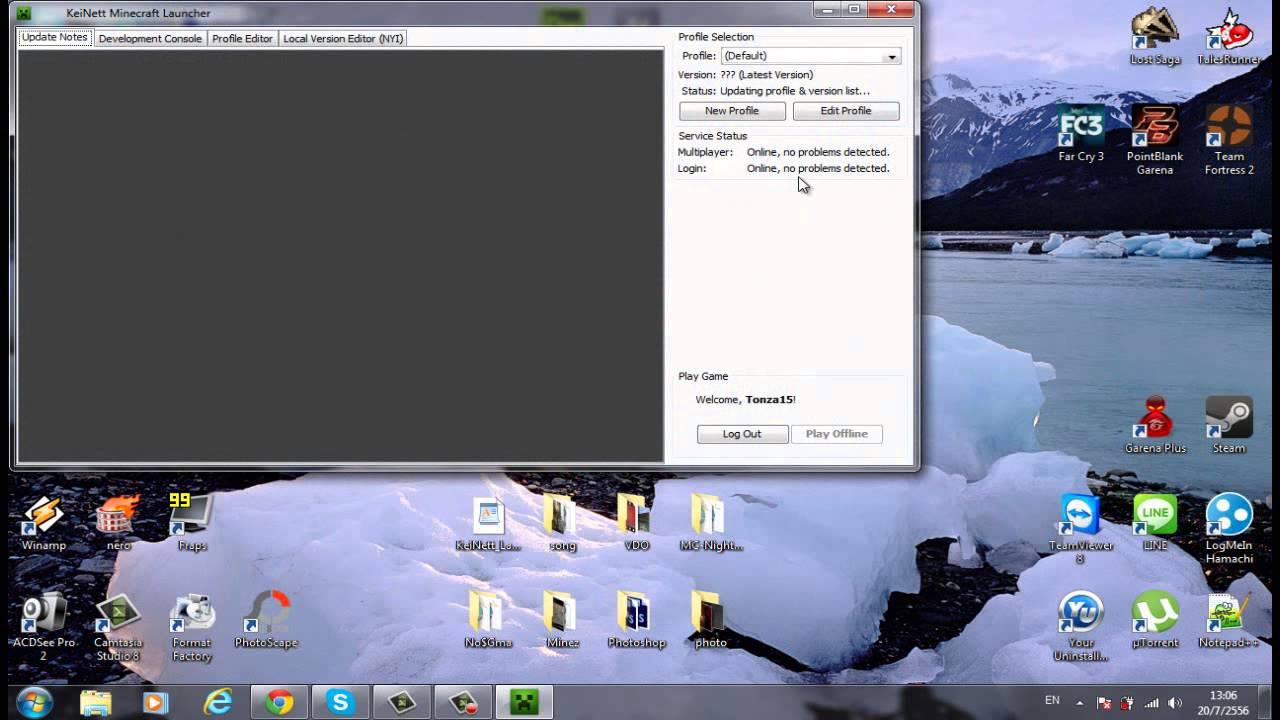 Tutorial ita] download minecraft launcher 1. 1. 1 (minecraft 1. 7. 2.