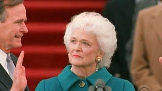 Barbara Bush in