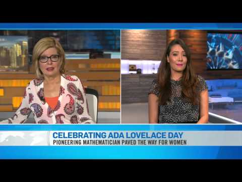 Ziya Tong talks Ada Lovelace Day!