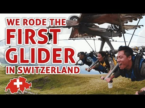 Exploring Switzerland Part 2: First Glider + Mountain Coaster + Paragliding: TSL Vlogs