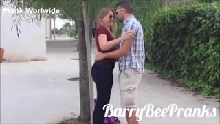 KISSING PRANK   WORLD'S HOTTEST GIRLS      GONE WILDE