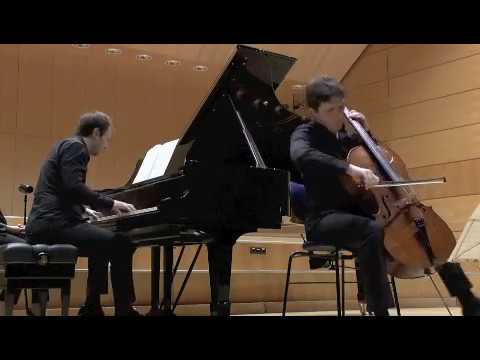 Brahms Cello Sonata e minor (ending)