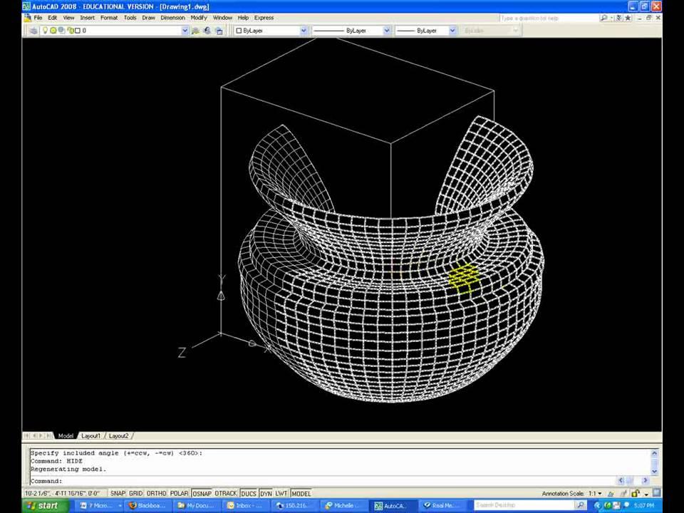 Modeling Complex Surfaces Edgesurf Youtube