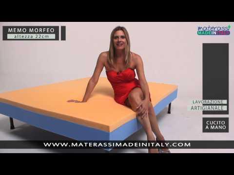 Materassi Morfeo.Memo Morfeo Materasso Memory Youtube