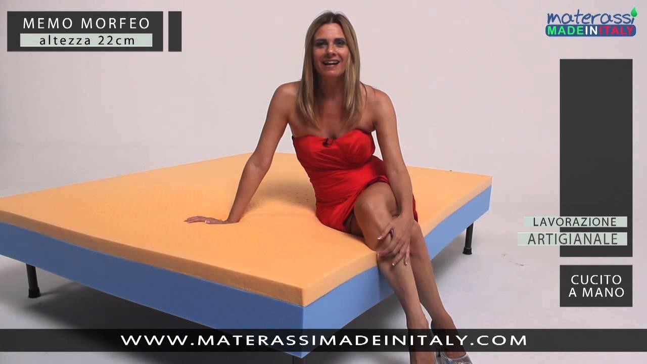 Pubblicita Materassi Memory.Memo Morfeo Materasso Memory Youtube