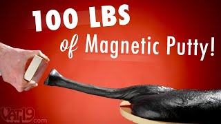100 lbs (45 kg) of Magnetic Thinking Putty