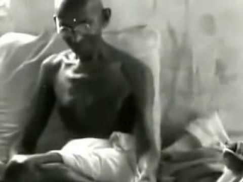 Mahatma Gandhi's First Television Interview