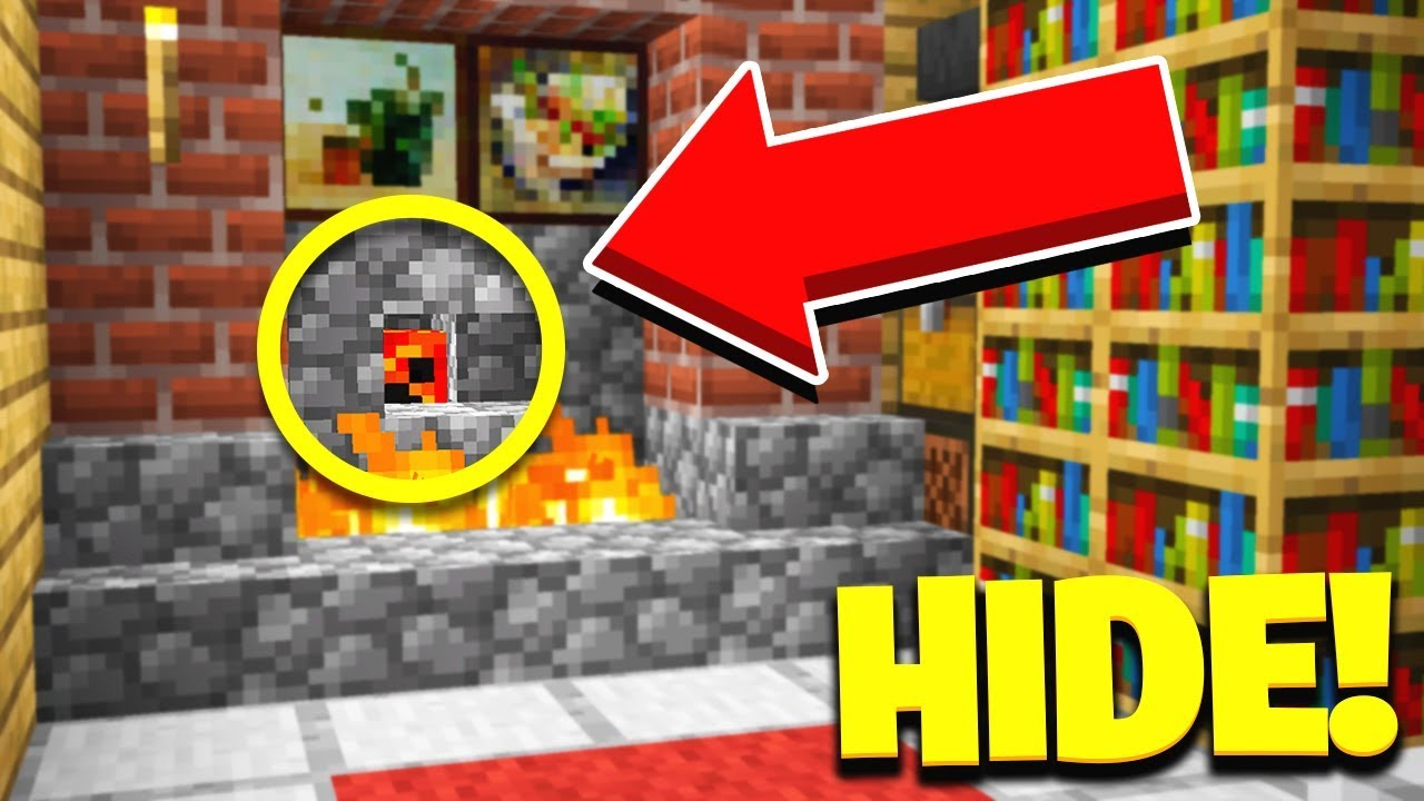 THE GOD SPOT! | Hide & Seek with my Little Brother! - Minecraft Mods