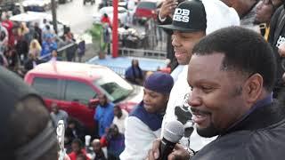 J PRINCE SR Brings Out Bronx Rapper That Got YBN Chain Back HOCUS 45TH @ J PRINCE JR BLOCK PARTY!
