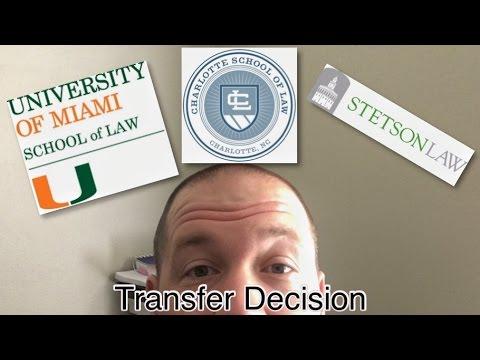 Law School Transfer Decision