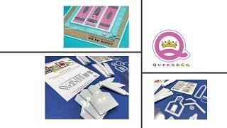 Unboxing Queen & Co. School Days kit - Plus bonus card