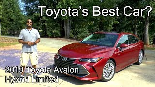 2019 Toyota Avalon Hybrid Limited Review - Is This Toyota's Best Car?