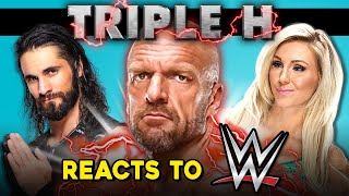 Triple H Reacts To WWE Superstars React To Triple H (25th Anniversary)