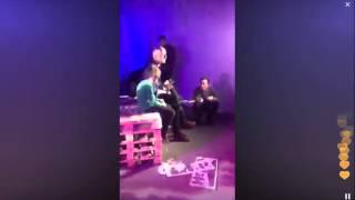 Елена Борщева (comedy woman) в перископе (periscope) с дочкой на робо-елке!