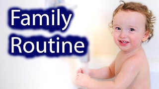 FAMILY'S NIGHT TIME ROUTINE!!