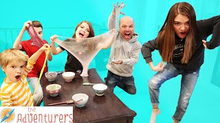 Guess The CHARADES Win Your SLiME Ingredients I That YouTub3 Family The Adventurers