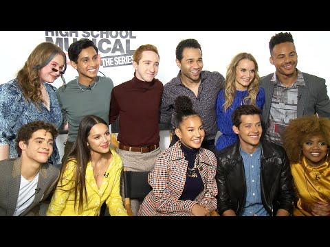 'High School Musical's Corbin Bleu Surprises and Interviews the TV Series Cast! (Exclusive)
