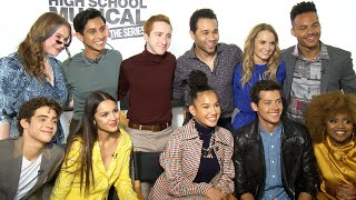 'High School Musical's Corbin Bleu Surprises and Interviews the TV Series Cast! (Exclusive)