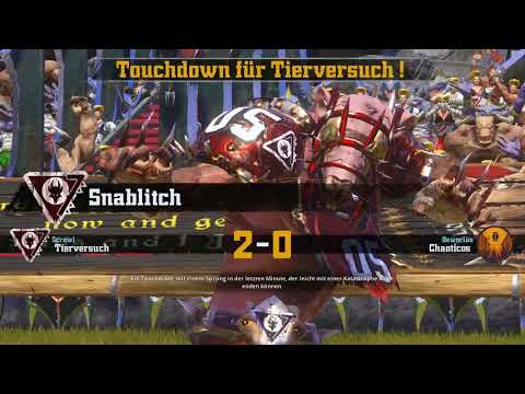 Blood Bowl 2 [Let's Play/german] Team Tierversuch!! [Battle] #001