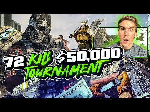 72 KILL *INSANE* WARZONE GAMEPLAY!! WE WON $50,000 WARZONE TOURNAMENT! (Modern Warfare)