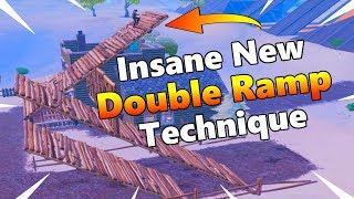 Insane New Double Ramp Technique! - Fortnite Tips And Tricks