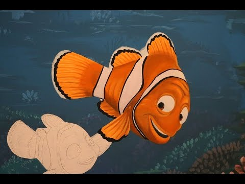 Tutorial - How To Paint Marlin From Finding Nemo