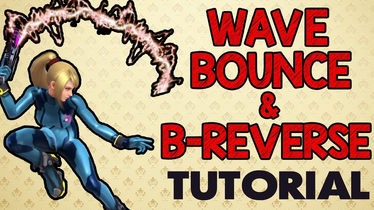 Wavebounce & B-Reverse Tutorial! (Smash Wii U/3DS)
