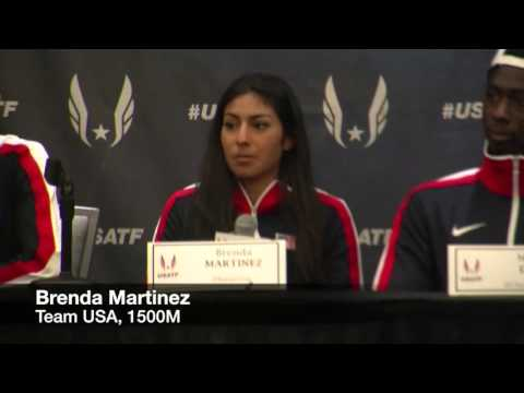 Meet Team USA athletes prior to the World Indoor Championships
