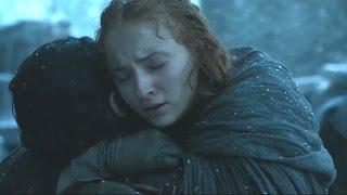 Sansa se reencuentra con Jon Snow | Juego de Tronos Español HD