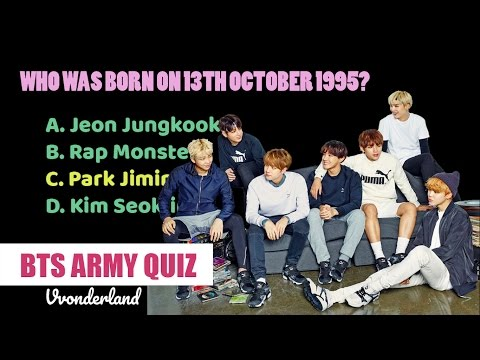 BTS ARMY QUIZ: How well do you know BTS?