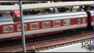Grand Confort TEE SNCF Echelle N - N Scale - LED LIGHTED Minitrix