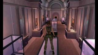 Tomb Raider Angel of Darkness - Louvre Galleries (Part1)