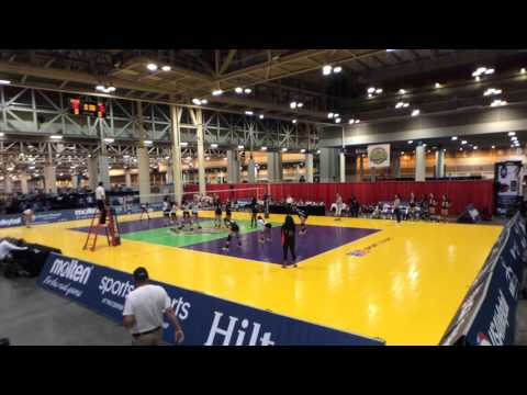 Lauren Evans playing GJNC Crossover Match vs OVA 2015