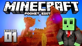 One of Dallasmed65's most viewed videos: Let's Play Minecraft PE - Ep.1 : The Adventure Begins!