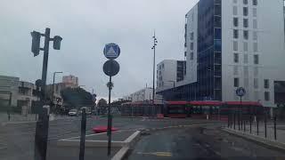 Premiers essais du nouveau tram à l'ouest de Nice ! (06)