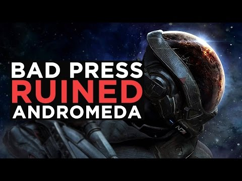 How BAD Press Ruined Mass Effect: Andromeda