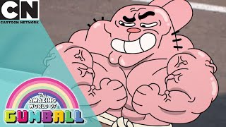 The Amazing World of Gumball   Richard is Working Out   Cartoon Network UK