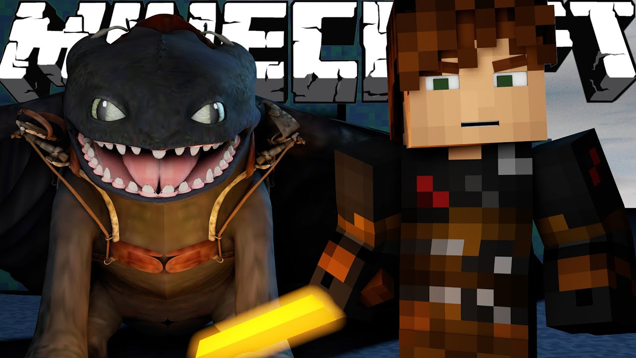 Minecraft Finale: Part 1  How To Train Your Dragon